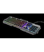 Ігрова клавіатура Trust GXT 853 Esca Metal Rainbow Gaming Keyboard