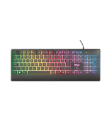 Игровая клавиатура Trust Ziva Gaming Rainbow LED Keyboard