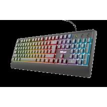 Ігрова клавіатура Trust Ziva Gaming Rainbow LED Keyboard