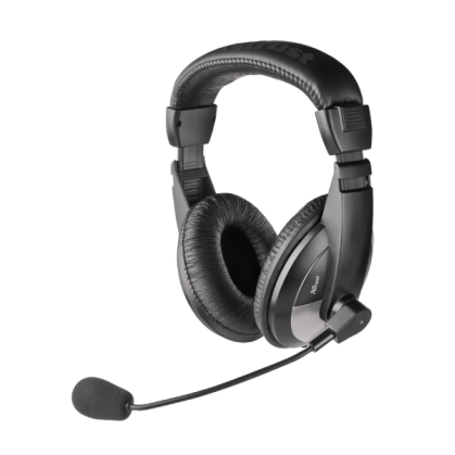 Гарнітура з мікрофоном Quasar headset (16904)