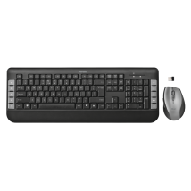 Клавіатура + миша Tecla wireless multimedia keyboard with mouse