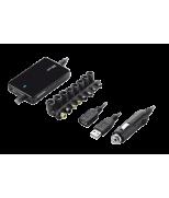 Зарядное устройство 70W Thin laptop & phone charger for car use